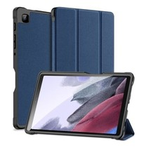 Samsung Galaxy Tab A7 Lite (2021)  Hoes - Dux Ducis Domo Book Case - Blauw