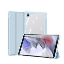 Samsung Galaxy Tab A7 Lite (2021)  Hoes - Dux Ducis Toby Tri-Fold Book Case - Blauw