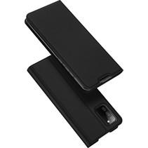 Samsung Galaxy A02s Hoesje - Dux Ducis Skin Pro Book Case - Zwart