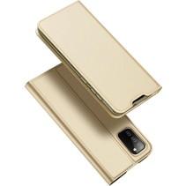Samsung Galaxy A02s Hoesje - Dux Ducis Skin Pro Book Case - Goud