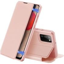 Samsung Galaxy A02s Hoesje - Dux Ducis Skin X Case - Roze