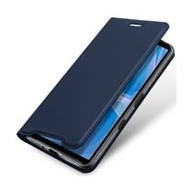 Sony Xperia 10 III Hoesje - Dux Ducis Skin Pro Book Case - Donker Blauw