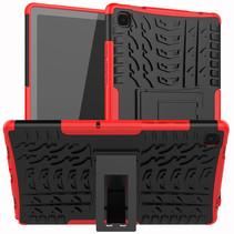 Samsung Galaxy Tab A7 (2020) Hoesje - Schokbestendige Back Cover - Rood