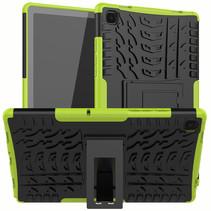 Samsung Galaxy Tab A7 (2020) Hoesje - Schokbestendige Back Cover - Groen