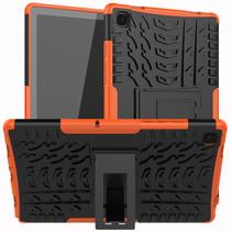 Samsung Galaxy Tab A7 (2020) Hoesje - Schokbestendige Back Cover - Oranje