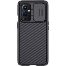 OnePlus 9 Back Cover - CamShield Pro Armor Case - Zwart