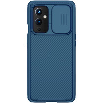 OnePlus 9 Back Cover - CamShield Pro Armor Case - Blauw