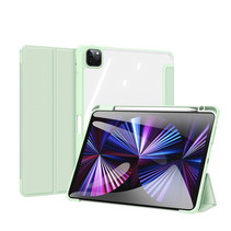Apple iPad Pro 2021 (11 inch) Hoes - Dux Ducis Toby Tri-Fold Book Case - Groen