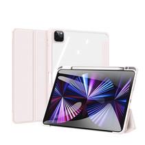Apple iPad Pro 2021 (11 inch) Hoes - Dux Ducis Toby Tri-Fold Book Case - Roze