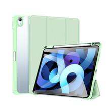 Apple iPad Air 10.9 Hoes - Dux Ducis Toby Tri-Fold Book Case - Groen