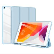 Apple iPad 10.2 2019/2020 Hoes - Dux Ducis Toby Tri-Fold Book Case - Blauw