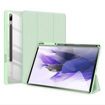 Samsung Galaxy Tab S7 FE Hoes - Dux Ducis Toby Tri-Fold Book Case - Groen