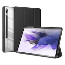 Samsung Galaxy Tab S7 FE Hoes - Dux Ducis Toby Tri-Fold Book Case - Zwart
