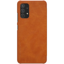 Samsung Galaxy A32 4G Hoesje - Qin Leather Case - Flip Cover - Bruin
