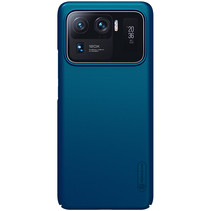 Nillkin - Xiaomi Mi 11 Ultra Hoesje - Super Frosted Shield - Back Cover - Blauw