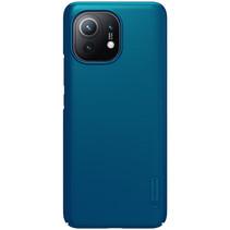 Nillkin - Xiaomi Mi 11 Hoesje - Super Frosted Shield - Back Cover - Blauw