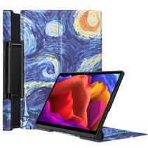 Lenovo Yoga Tab 13 (2021) Hoes - Tri-Fold Book Case - Sterrenhemel
