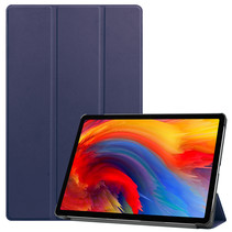 Lenovo Tab P11 Plus (11 inch) Hoes - Tri-Fold Book Case - Donker Blauw