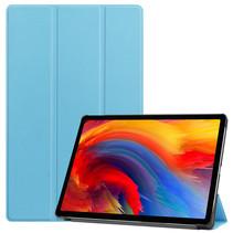 Lenovo Tab P11 Plus (11 inch) Hoes - Tri-Fold Book Case - Licht Blauw