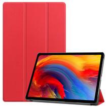 Lenovo Tab P11 Plus (11 inch) Hoes - Tri-Fold Book Case - Rood