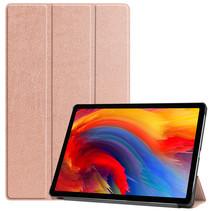 Lenovo Tab P11 Plus (11 inch) Hoes - Tri-Fold Book Case - Rosé-Goud