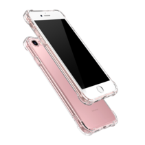 Apple iPhone 7/8/SE 2020 Hoesje - Clear Soft Case - Siliconen Back Cover - Shock Proof TPU - Transparant