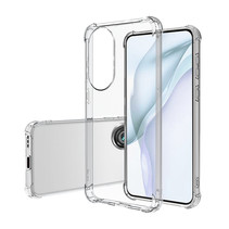 Huawei P50 Hoesje - Clear Soft Case - Siliconen Back Cover - Shock Proof TPU - Transparant