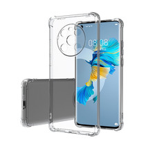 Huawei Mate 40 Hoesje - Clear Soft Case - Siliconen Back Cover - Shock Proof TPU - Transparant