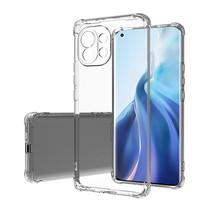 Xiaomi Mi 11 Hoesje - Clear Soft Case - Siliconen Back Cover - Shock Proof TPU - Transparant