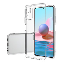 Xiaomi Redmi Note 10 Hoesje - Clear Soft Case - Siliconen Back Cover - Shock Proof TPU - Transparant