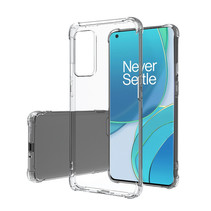 OnePlus 9 Pro Hoesje - Clear Soft Case - Siliconen Back Cover - Shock Proof TPU - Transparant