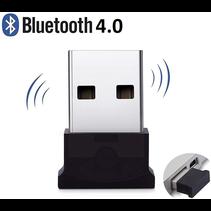 Mini Bluetooth Adapter - USB Dongle - Plug & Play - Bluetooth 4.0 USB Stick - Zwart