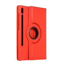 Samsung Galaxy Tab S7 Plus (2020) Hoes - Draaibare Book Case Cover - 12.4 Inch - Rood