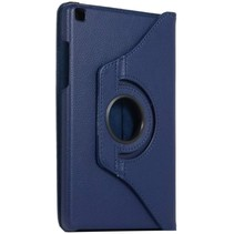 Samsung Galaxy Tab S6 Lite Hoes - Draaibare Book Case Cover - 10.4 Inch - Donker Blauw