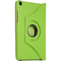 Samsung Galaxy Tab S6 Lite Hoes - Draaibare Book Case Cover - 10.4 Inch - Groen