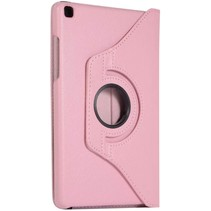 Samsung Galaxy Tab S6 Lite Hoes - Draaibare Book Case Cover - 10.4 Inch - Roze