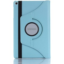 Samsung Galaxy Tab S6 Lite Hoes - Draaibare Book Case Cover - 10.4 Inch - Licht Blauw