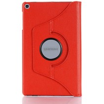 Samsung Galaxy Tab S6 Lite Hoes - Draaibare Book Case Cover - 10.4 Inch - Rood