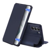 Samsung Galaxy S21 FE Hoesje - Dux Ducis Skin X Case - Donker Blauw
