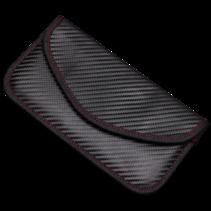 Autosleutel Hoesje - Antidiefstal Beschermhoes - RFID Blocking - Auto Sleutel Etui - 20 x 10 cm - Zwart