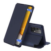 Samsung Galaxy A72 5G Hoesje - Dux Ducis Skin X Case - Donker Blauw