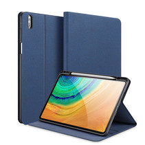 Huawei MatePad Pro 10.8 (2021) - Dux Ducis Domo Book Case - Donker Blauw
