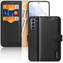 Samsung Galaxy S21 FE Hoesje - Dux Ducis Hivo Series Case - Zwart