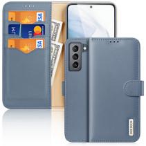 Samsung Galaxy S21 FE Hoesje - Dux Ducis Hivo Series Case - Blauw