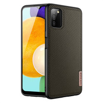 Samsung Galaxy A03s hoesje - Fino Series - Back Cover - Donker Groen