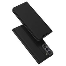 Samsung Galaxy S21 FE Hoesje - Dux Ducis Skin Pro Book Case - Zwart