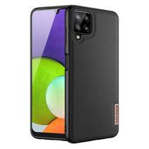 Samsung Galaxy A22 Hoesje - Fino Series - Back Cover - Zwart