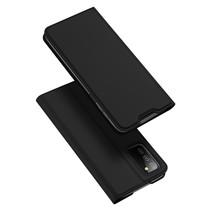 Samsung Galaxy A03s Hoesje - Dux Ducis Skin Pro Book Case - Zwart
