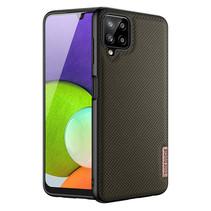 Samsung Galaxy A22 hoesje - Fino Series - Back Cover - Donker Groen