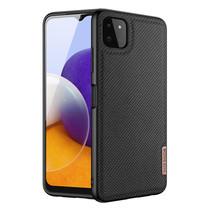 Samsung Galaxy A22 5G hoesje - Fino Series - Back Cover - Zwart